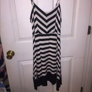 Dresses & Skirts - Black and White sun dress